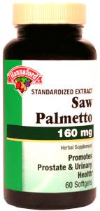 Hannaford Saw Palmetto 160 Mg