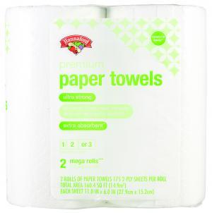 Hannaford Premium Mega Roll Paper Towels Choose A Size