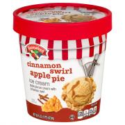 Hannaford Cinnamon Swirl Apple Pie Ice Cream