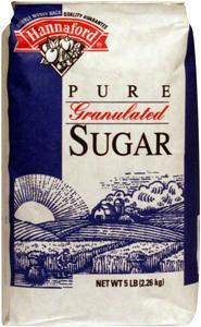 Hannaford Granulated Sugar at Hannaford