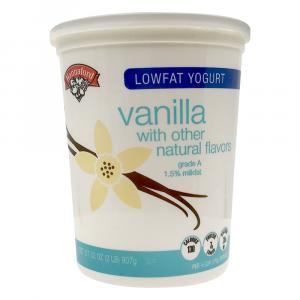 Hannaford Lowfat Vanilla Yogurt
