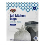Hannaford Tall Kitchen Trash Bags