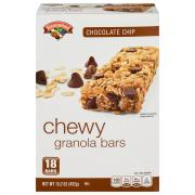 Hannaford Chocolate Chip Chewy Granola Bars