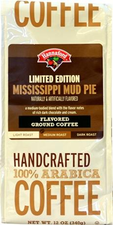 Hannaford Limited Edition Mississippi Mud Pie Ground Coffee