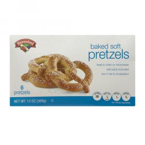 Hannaford Soft Baked Pretzels