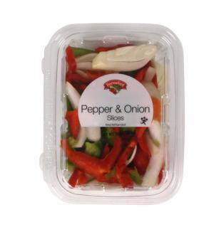 Pepper & Onion Slices