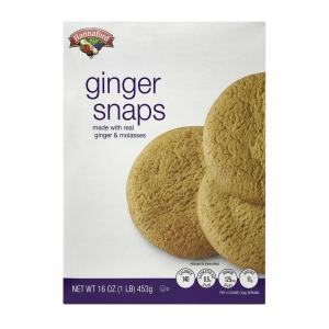 Hannaford Ginger Snap Cookies