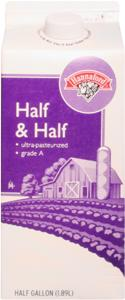 Hannaford Half & Half Cream