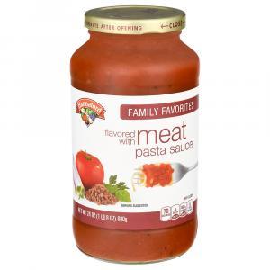 Hannaford Meat Pasta Sauce