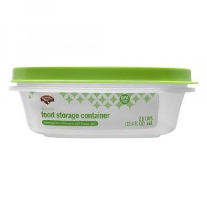 Hannaford 2.8-Cup Food Storage Rectangle Container
