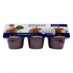 Hannaford Unsweetened Blueberry Applesauce