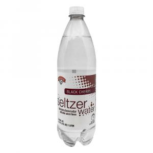 Hannaford Black Cherry Seltzer Water