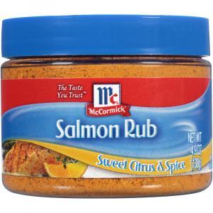 Mccormick Golden Dipt Sweet Citrus Spice Salmon Rub