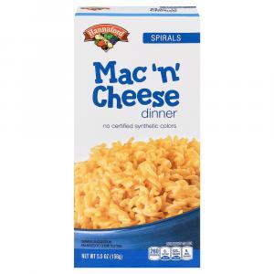 Hannaford Spirals Macaroni & Cheese Dinner