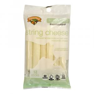 Hannaford Reduced Fat Mozzarella String Cheese