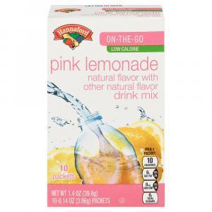 Hannaford Pink Lemonade Drink Mix