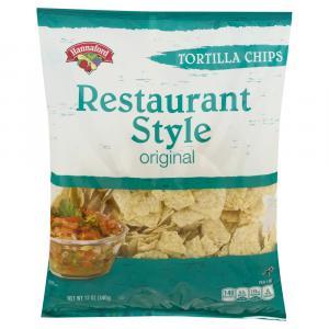 Hannaford Restaurant Style Tortilla Chips
