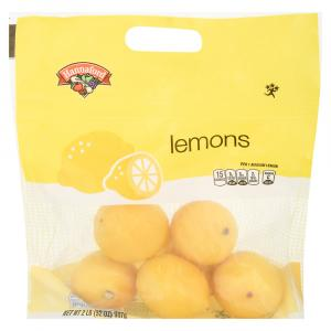 Hannaford Bagged Lemons