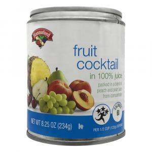 Hannaford Fruit Cocktail in Pear Juice