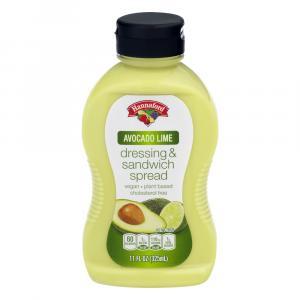 Hannaford Avocado Lime Sandwich Spread