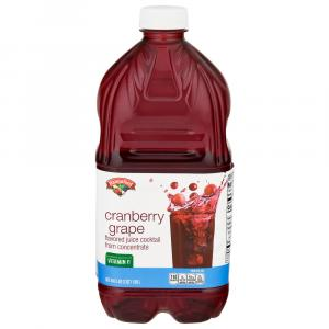 Hannaford Grape Cranberry Juice