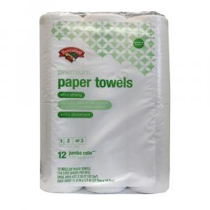 Hannaford Premium Paper Towels Choose A Size 12 Jumbo Rolls