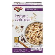 Hannaford Raisin & Spice Oatmeal