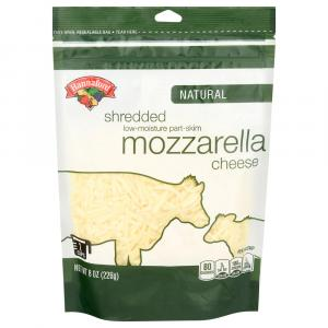 Hannaford Low Moisture Part Skim Mozzarella Shredded Cheese