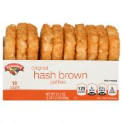 Hannaford Hashbrown Patties