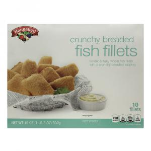 Hannaford Crunchy Fish Fillets