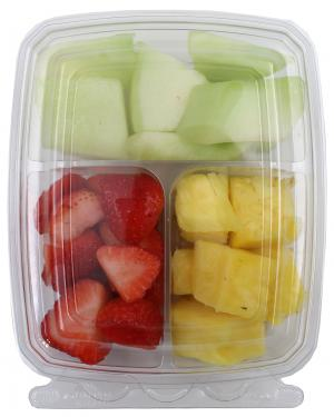 Snack Pals Pineapple, Strawberries & Honeydew