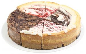 "Hannaford 9"" Sweet Temptations Cheesecake"