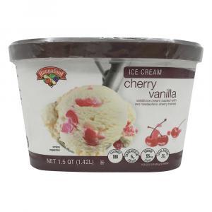 Hannaford Cherry Vanilla Ice Cream