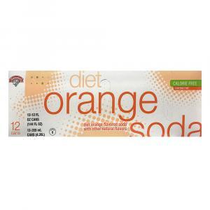 Hannaford Diet Orange Soda