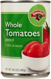 Hannaford Whole Peeled Tomatoes