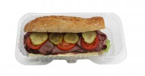 """Multigrain 6"""" Roast Beef Sub"""
