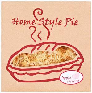 """8"""" Apple Crumb Pie"""