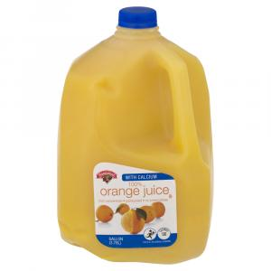 Hannaford 100% Orange Juice with Calcium from Concentrate