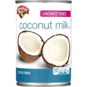 Hannaford Unsweetened Coconut Milk