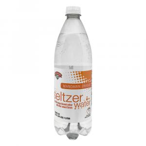 Hannaford Mandarin Orange Seltzer Water