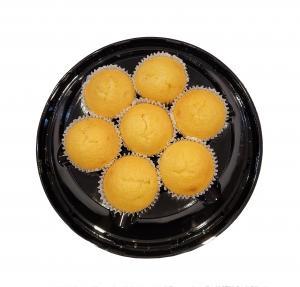 Hannaford Uniced Gold Cupcakes