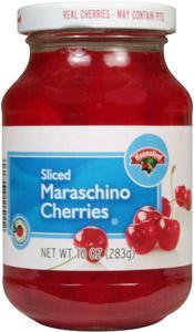 Hannaford Sliced Maraschino Cherries