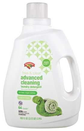 Hannaford Free & Clear Advanced Cleaning Laundry Detergent