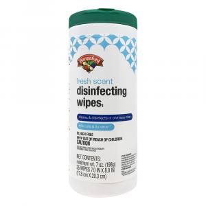 Hannaford Fresh Scent Disinfecting Wipes