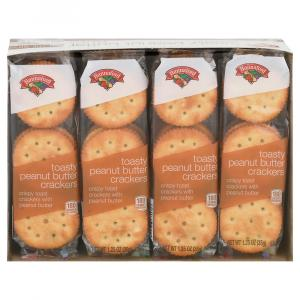 Hannaford Toasty Peanut Butter Crackers