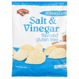 Hannaford Salt & Vinegar Potato Chips