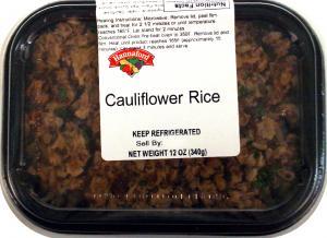 Hannaford Cauliflower Rice
