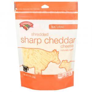 Hannaford Sharp White Shredded Cheddar Cheese