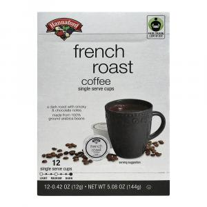 Hannaford French Roast Coffee Single Serving Cup