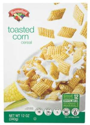 Hannaford Toasted Corn Cereal